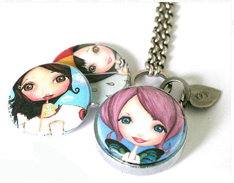 Girl Power | Aromatherapy Locket