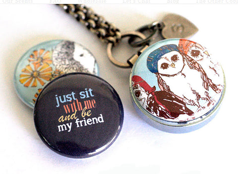 SIT WITH ME | Friendship Aromatherapy Locket
