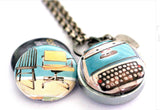 RETRO Typewriter | Aromatherapy Locket for Writers