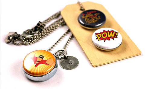 Superhero | Aromatherapy Necklace
