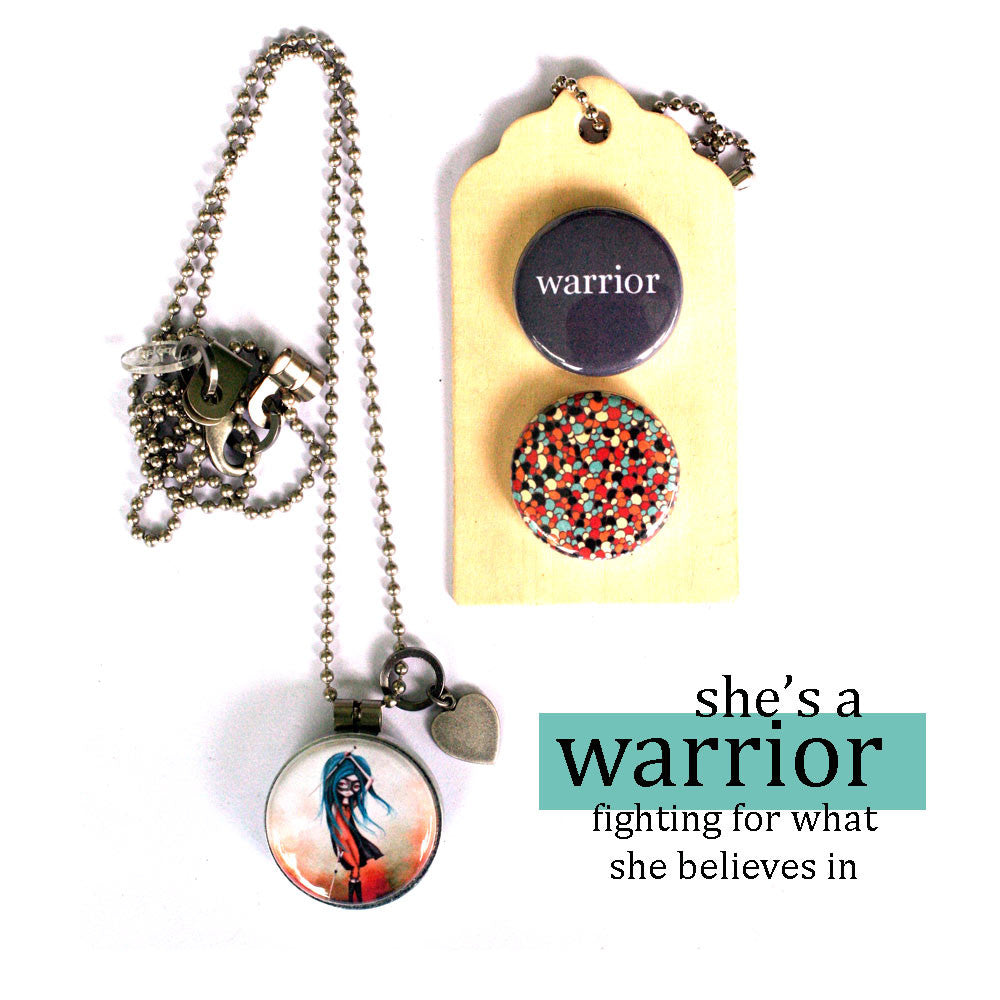 WARRIOR | Archetype Magnetic Diffuser Necklace