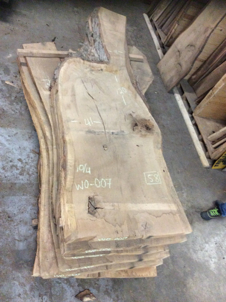 White Oak Slab