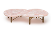 PINK ISLANDS COFFEE TABLE