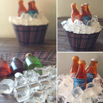 Beer Bucket Printable Cupcake Wrap Download