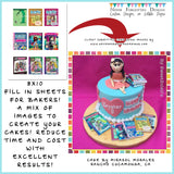 Edible Image Fill-In Sheet on Frosting Paper - Never Forgotten Designs
