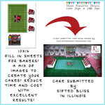 Edible Images to Make an FOOTBALL STADIUM Cake