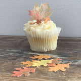 Edible Medium Autumn Leaves