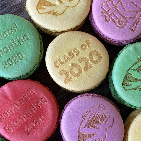 Engraved Custom Personalized Macarons St Louis STL