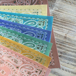 Shabby Chic Designs on Wafer Paper