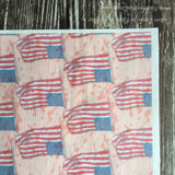 Wafer Paper Patriotic American Flag