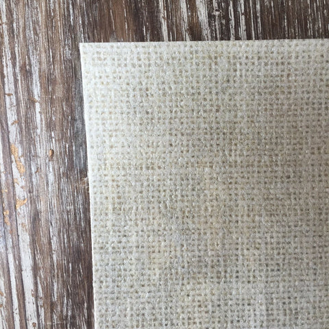 Burlap Design on Edible on Wafer Paper - Never Forgotten Designs
