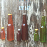 Mini 1.75 Inch Sugar Beer Bottle