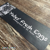 Economic Printed Custom Egg Carton Labels Personalized with Your Information - Never Forgotten Designs