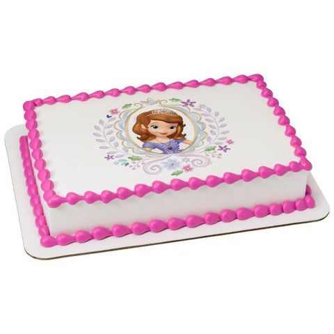 Officially Licensed Sofia the First Edible Cake Image Toppers