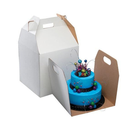 "Tall Cake Box for 10"" Cakes"