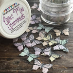 Edible Pastel Miniature Butterflies on Wafer Paper