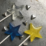 Sparkle Star Lollipops