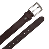 Ficuster Men Tan Color Matte Finish Leather Belt