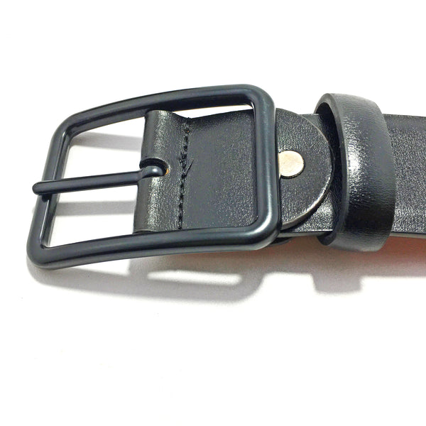 Ficuster Men Black Brown Reversible Glossy Finish PU Belt