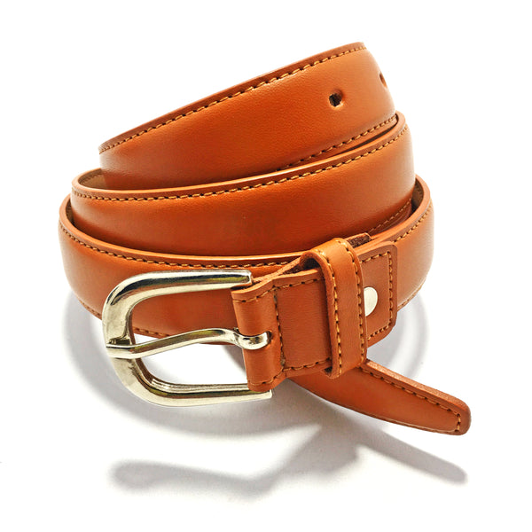 Ficuster Women Brown Leather Belt