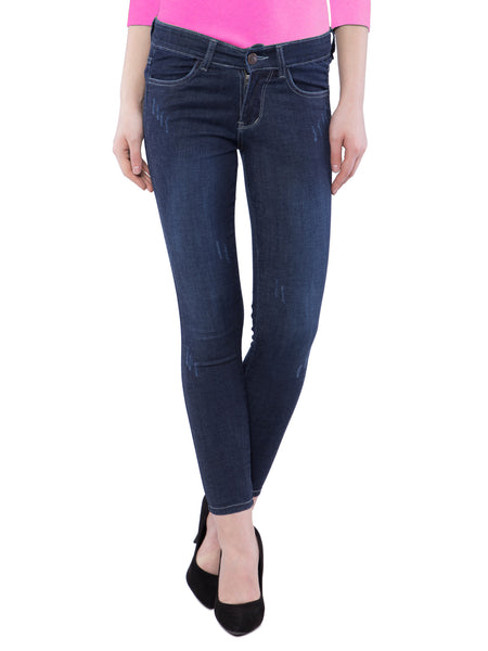 Ficuster Women Black Slim Fit Jeans