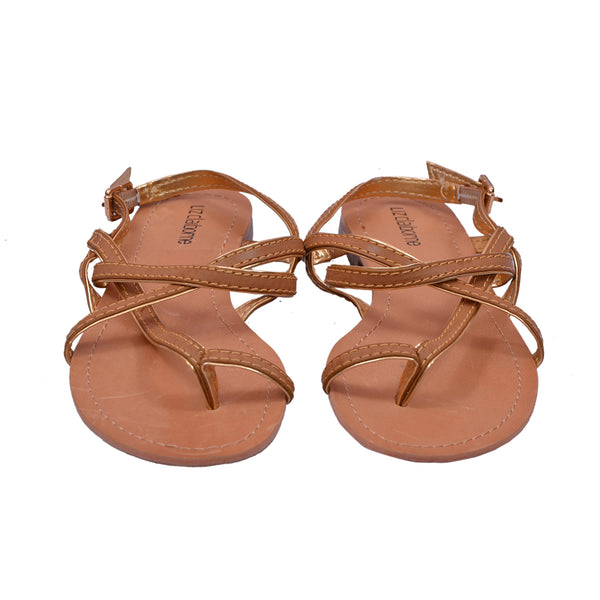Ficuster Women Wrap Flatform Sandals