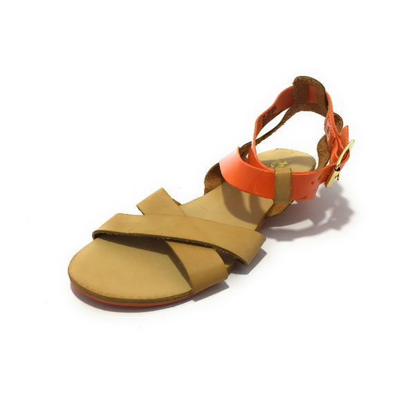Ficuster Women Buckle Closure Flatform Sandals