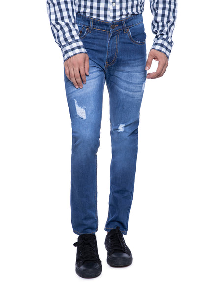 Ficuster Men Blue Slim Fit  Jeans