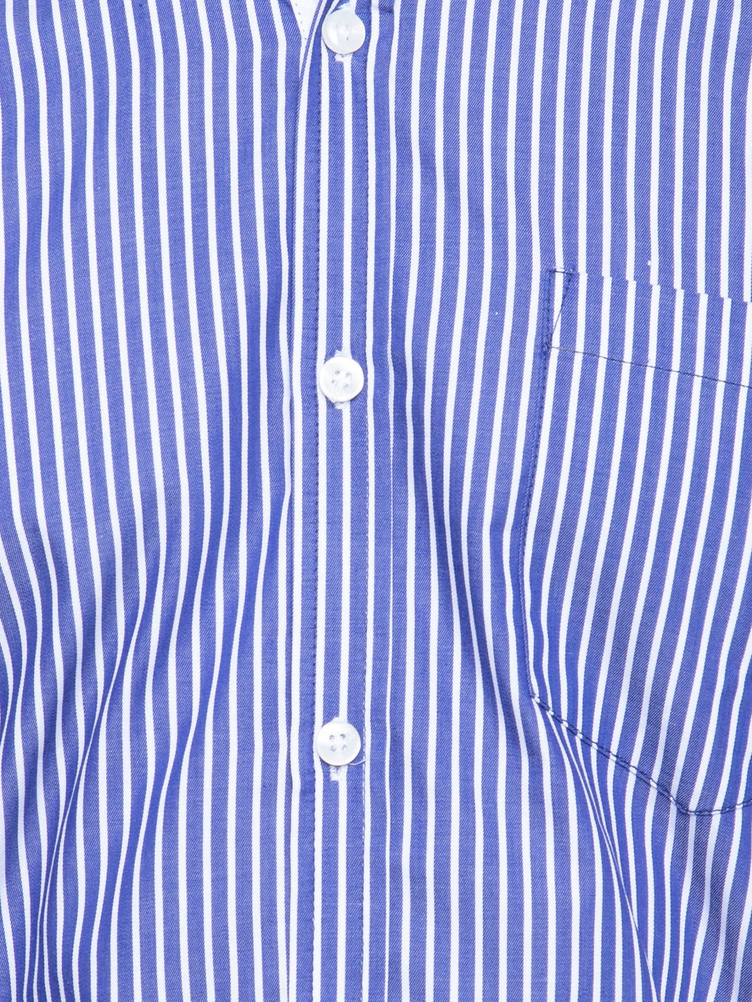 Ficuster Men Blue Striped Pattern Shirt