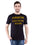 Ficuster Men Black Printed Crew Neck T-Shirt