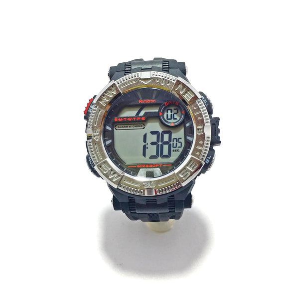 Armitron Men Black Digital Sports Watch