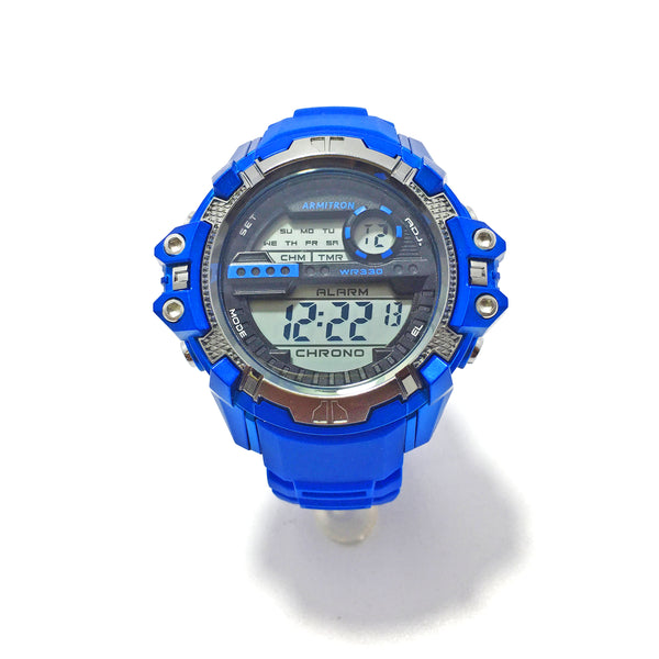 Armitron Men Blue Digital Sports Watch