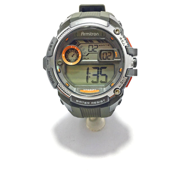 Armitron Men Grey Digital Sports Watch