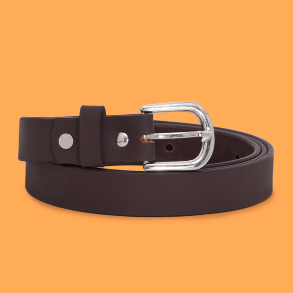 Ficuster Women Tan Leather Belt
