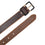 Ficuster Women Tan Glossy Finish Leather Belt