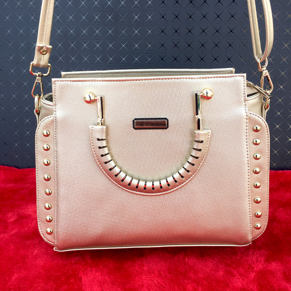 Ficuster Light Pink Handbag