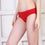 Ficuster Red Blue Low Rise Cotton Bikini Panty (Pack of 2)