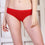 Ficuster Red Low Rise Cotton Bikini Panty