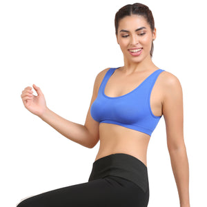 Ficuster Blue Light Weight Sport Bra