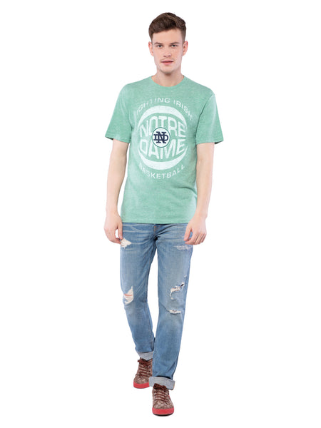 American Eagle Mint Printed Crew Neck T-Shirt