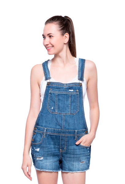 Aeropostale Women Denim Dungarees
