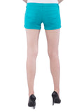 Aeropostale Women Blue Shorts