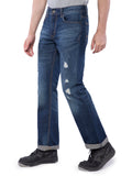 Aeropostale Men Blue Slim Boot Jeans