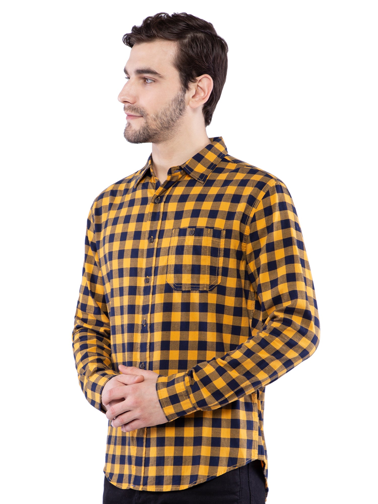 Aeropostale Men Multicolored Checkered Shirt