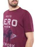 Aeropostale Men Printed Crew Neck T-Shirt