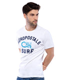 Aeropostale Men Embroidered Crew Neck T-Shirt