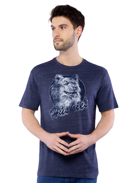 Adidas College Vault Blue Crew Neck T-Shirt