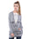 Hollister Women Grey Cardigan
