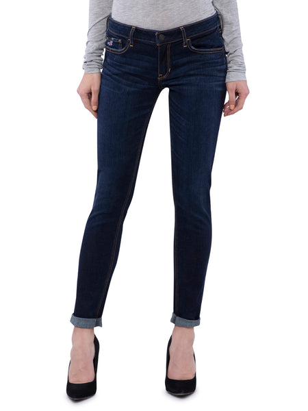 Hollister Women Blue Skinny Jeans
