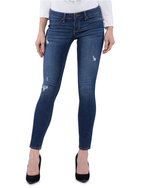 Hollister Women Dark Blue Slim Fit Jeans